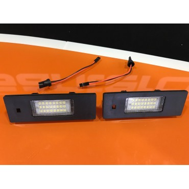 Leds Matricula BMW E81, E87, E87N, E86 ( Z4 Coupe) Mini R55,