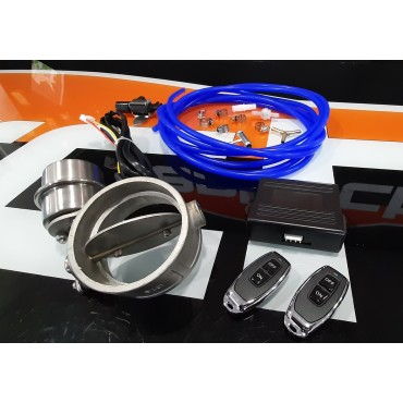 Bypass Kit Vacuo c/ Central e Comandos 63mm