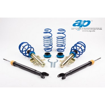 Coilover kit, Ap Audi A4 B5 1.6/1.8/1.8T/1.9Di/1.9TDi excl. Quattro/height adj