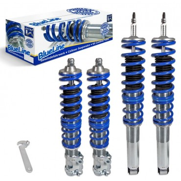 Coilover suspension kit, JOM BlueLine, VW Golf 4 Cabrio , thread VW Golf 4 Cabrio 	 Coilover suspension kit, JOM BlueLine, VW Golf 4 Cabrio , thread VW Golf 4 Cabrio
