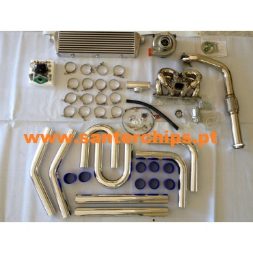 Kit Turbo Honda - B16 e B18 T3/T4