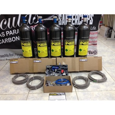 Kit Nitro Gasolina 1 Cilindro Wizards NOS 5LBS (2,5kg)
