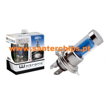 Xenon look Halogen Bulb (PAIR) H4 Whitronic