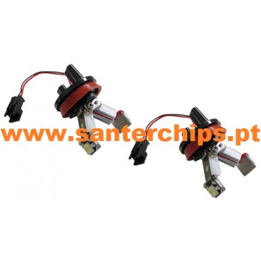 Pair of 6w Leds BMW Angel All LCI H8 Model LOWCOST