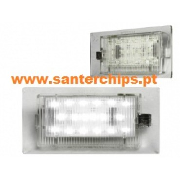 Leds Matricula MINI Cooper