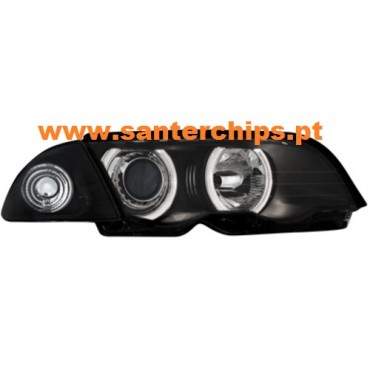 Farois com Angel Eyes BMW E46 Sedan/Touring 98-2001 DECTANE