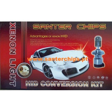 Kit Xenon H8 H9 H11 5000k 35w Santerchips HID